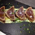 tataky de atún, una de las especialidades