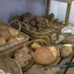 Huge variety of freshly baked breads