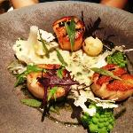 Scallop and Seaweed (too fishy)