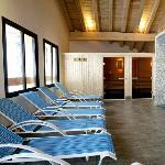 Les résidence Almes 1 à Tignes le Lac : L'espace détente