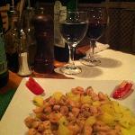 Calamari With oliveoil
