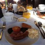 excellent breakfast in the Armada Restaurant