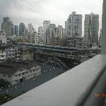 BTS Nana from room attached balcony of Amari Boulevard