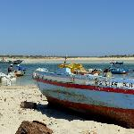 Dar Nesma la Tunisie au bord de l'eau.