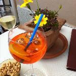 delicious aperol spritz