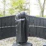 Pilgrim at Clonmacnoise