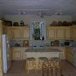 Kitchen where wonderful breakfasts are prepared