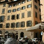 View of Firenze Suites from street