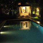 la piscina, que lugar!