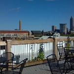 Roof Deck with Great Views of the City