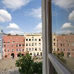 Blick auf das churfürstliche Regierungsgebäude