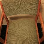 One of the two chairs