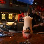 Signature frozen drinks in keepsake glasses at Hard Rock Cafe Four Winds