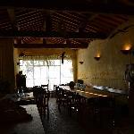 La Hall e la zona colazione/pranzo/cena