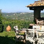 View from Casa Corzano