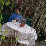 Garden with tea :)