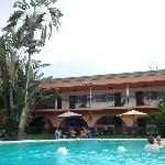 Hotel inside + pool