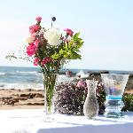 Altar on beach