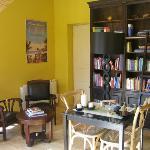 Bambou Lodge / Salle des petits déjeuners