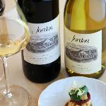 Jordan Cabernet Sauvignon and Chardonnay with chef's pairings