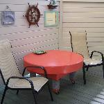 Boathouse private deck