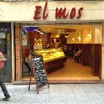 El Mos for great value coffee and pastries just at the bottom of the street to the right.