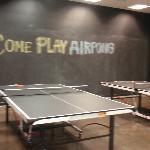 "Ping pong, coined ""AIR-Pong"""