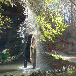 The water wheel and afternoon sun
