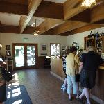 Inside Sausal Winery back in June 2012