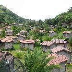 The cabanas.