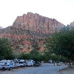 View from the campground