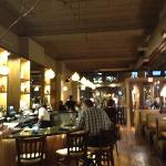Attractive interior - Chestnut restaurant - Asheville, NC
