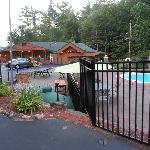 Pres de la piscine centrale