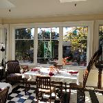 Conservatory breakfast room