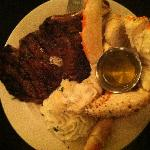 Signature Steak and crab legs (out of this world)