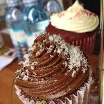 Delicious homemade cupcakes at Prunes