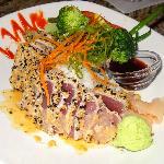"Ahi tuna ""Tokyo Style"""