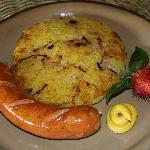 Hungarian Sausage with Swiss Roesti