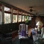sun porch that is part of the room