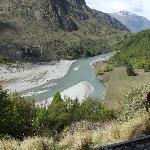 The Shotover River from our room