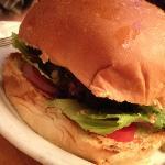 mushroom & blue cheese burger is good