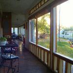 morning coffee area