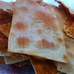 Cheese & Ciboulette GF crackers at Maru Botana