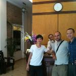 the fantastic guys that work at the hotel!