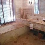 Very nice and spacious bathroom. Monarch villa #1008