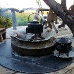 Morning water and porridge kettles