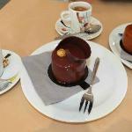 Des gâteaux au chocolat délicieux