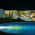 Naxos Palace Hotel, pools and bar area