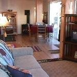 Moose Caboose living room