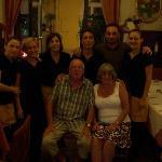 Geoff, Margaret and Staff.